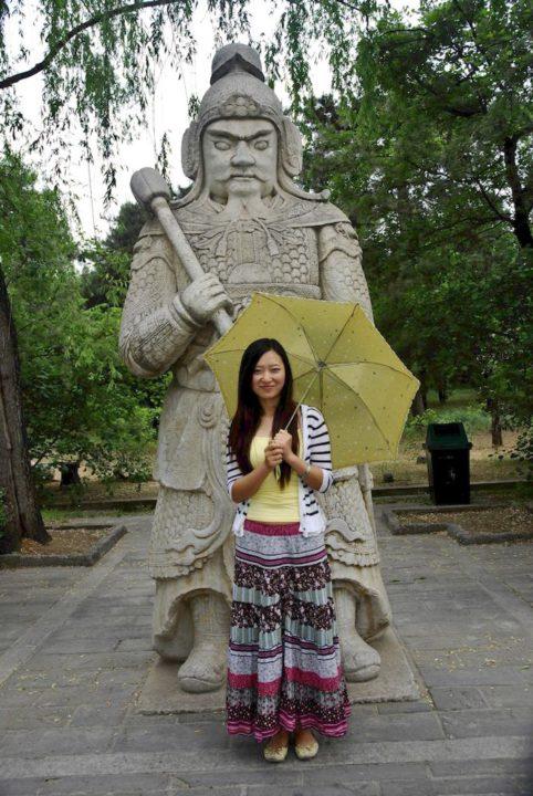 26-Zhu Lei, 26 años, traductora de inglés, Pekín.