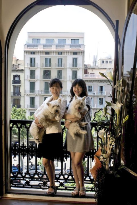 """3-Empresarias Chinas, Barcelona. """"Nos gustaría jubilarnos a los 35 años"""""""