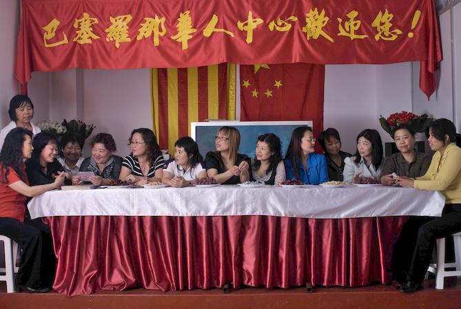 """8-Reunión de empresarias chinas en Barcelona. """"El sueño de las mujeres de nuestra asociación de Qingtian en Cataluña es unir oriente y occidente"""""""