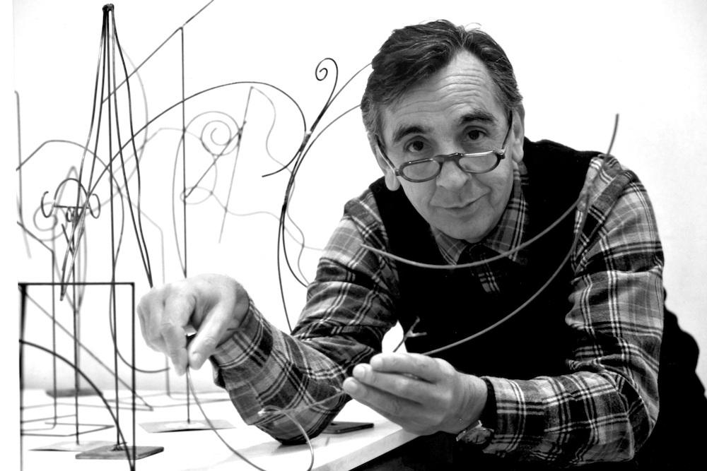 Andrés Alfaro, Escultor