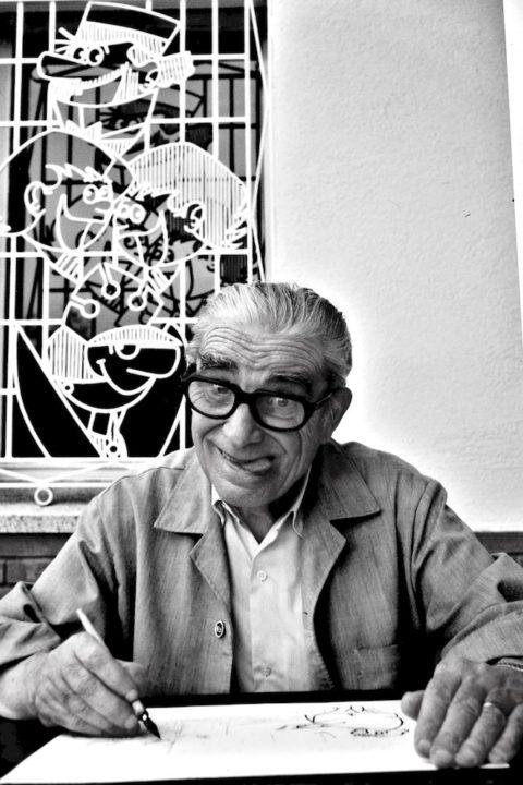 Josep Escobar, Dibujante